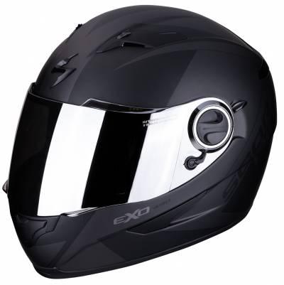 Scorpion Helm EXO-490 Pace, schwarz-silber matt
