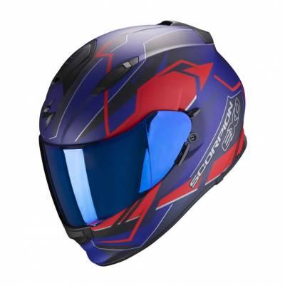 Scorpion Helm Exo-510 Air Balt, blau-rot matt