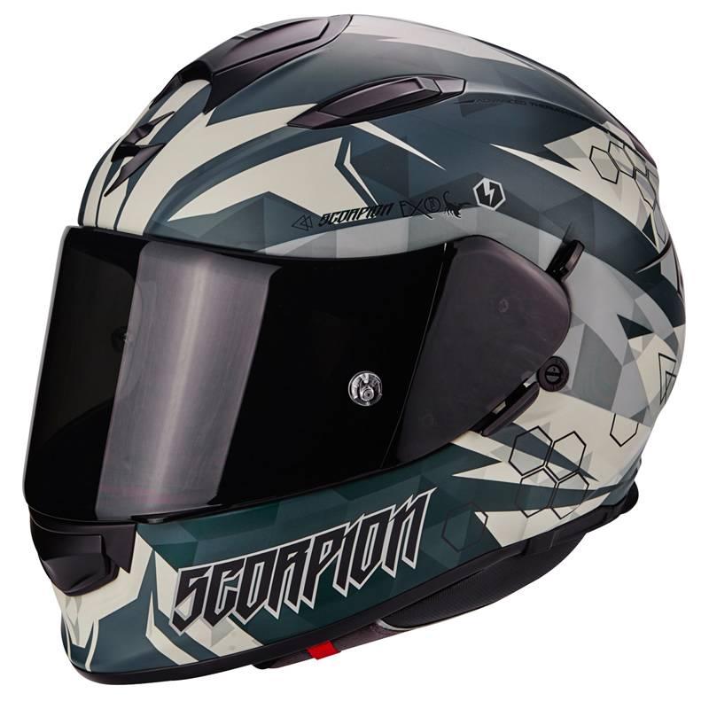 Scorpion Helm Exo-510 Air Cipher, matt-grün