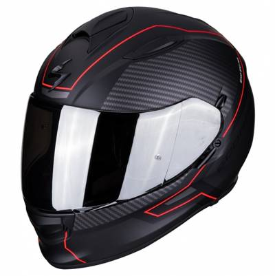 Scorpion Helm EXO-510 Air Frame, schwarz-rot matt