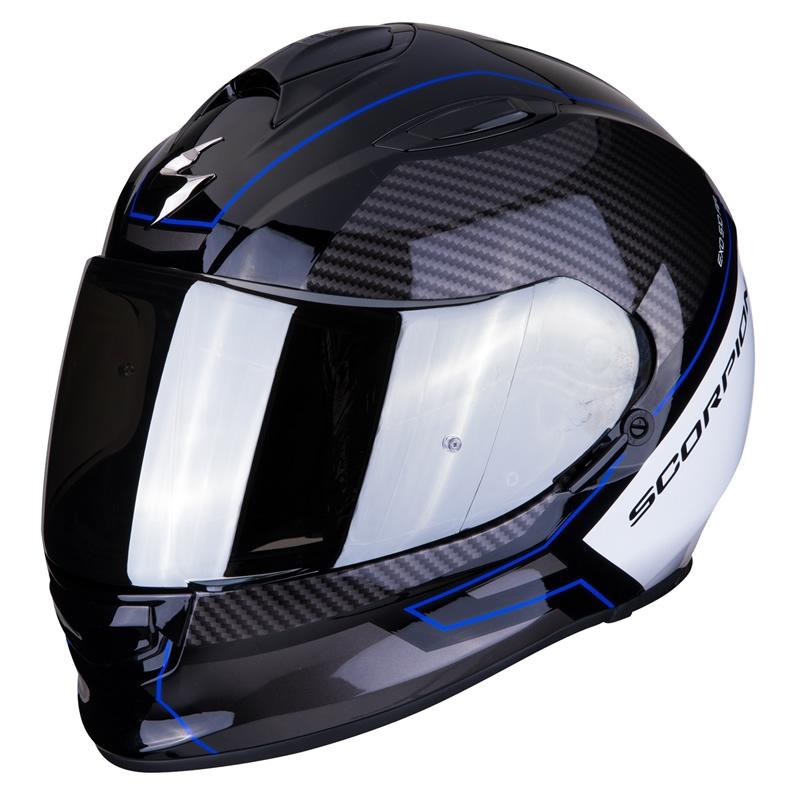 Scorpion Helm EXO-510 Air Frame, schwarz-weiß-blau