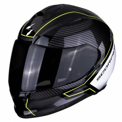Scorpion Helm EXO-510 Air Frame, schwarz-weiß-fluogelb