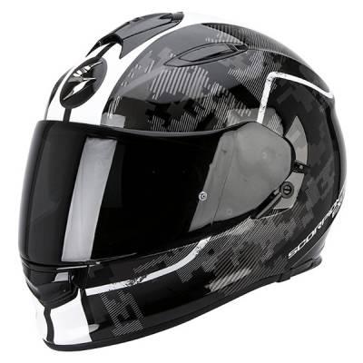 Scorpion Helm Exo-510 Air Guard, schwarz-grau-weiß