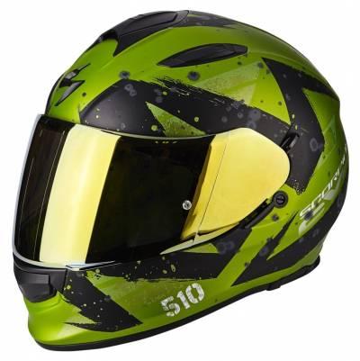 Scorpion Helm Exo-510 Air Marcus, matt grün-schwarz