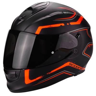 Scorpion Helm Exo-510 Air Radium, mattschwarz-orange