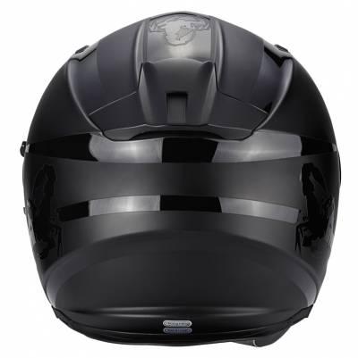 Scorpion Helm Exo-510 Air Sublim, schwarz-matt schwarz