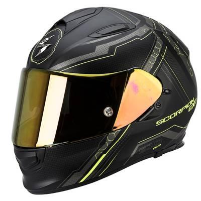 Scorpion Helm Exo-510 Air Sync, schwarz-neongelb matt