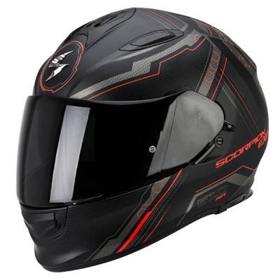 Scorpion Helm Exo-510 Air Sync, schwarz-neonrot matt