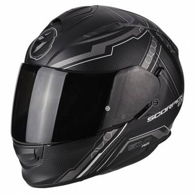 Scorpion Helm Exo-510 Air Sync, schwarz-silber matt
