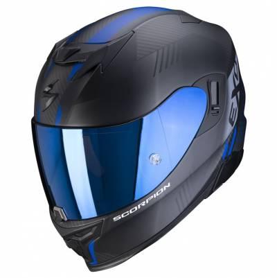 Scorpion Helm EXO-520 Air Laten, schwarz-blau matt