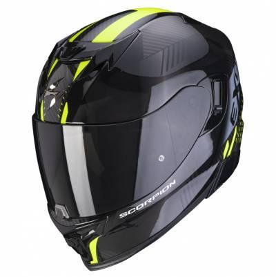 Scorpion Helm EXO-520 Air Laten, schwarz-fluogelb