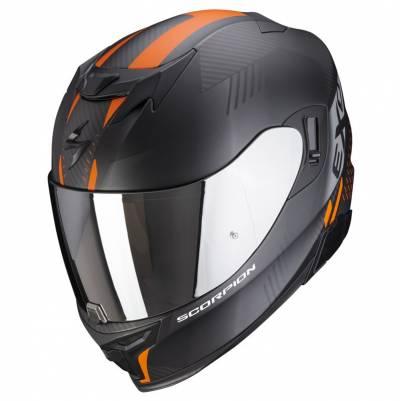 Scorpion Helm EXO-520 Air Laten, schwarz-orange matt