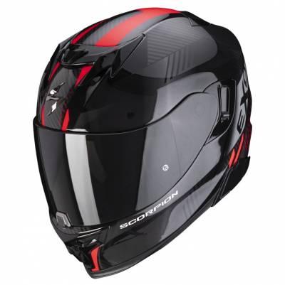 Scorpion Helm EXO-520 Air Laten, schwarz-rot