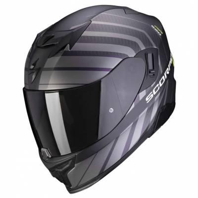 Scorpion Helm EXO-520 Air Shade, schwarz-fluogelb matt