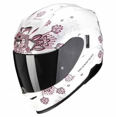 Scorpion Helm EXO-520 Air Tina, weiß-silber