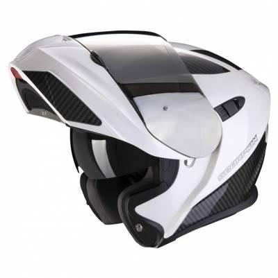 Scorpion Helm EXO-920 Flux, weiss-silber