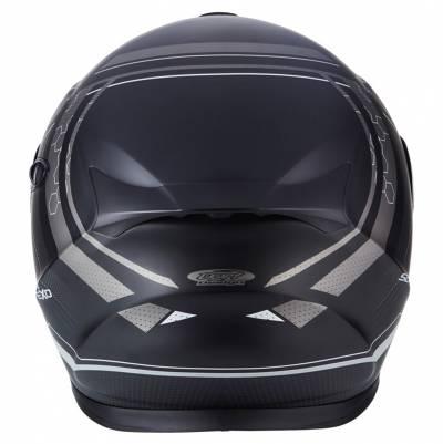 Scorpion Helm EXO-920 Satellite, matt schwarz-silber