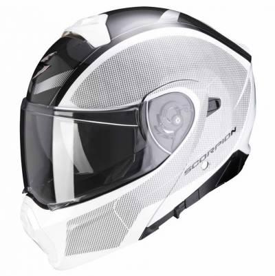 Scorpion Helm EXO-930 Cielo weiß-schwarz