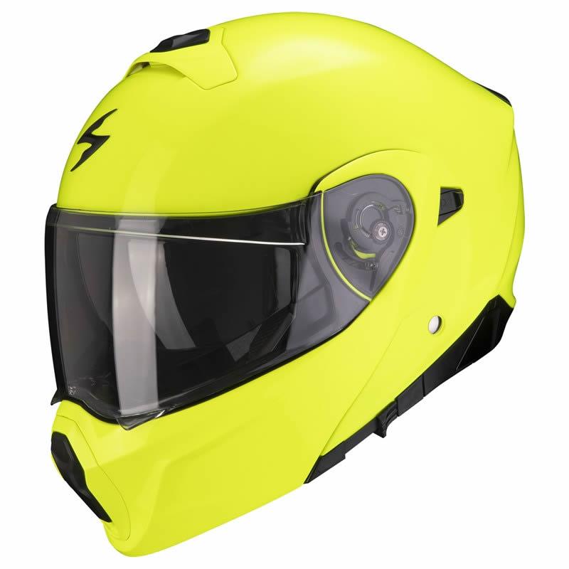 Scorpion Helm EXO-930 Solid, fluogelb