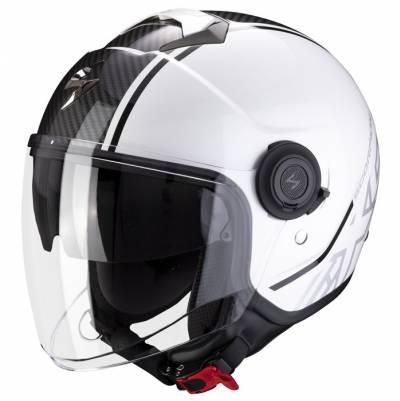 Scorpion Helm EXO-City Avenue, weiß-schwarz