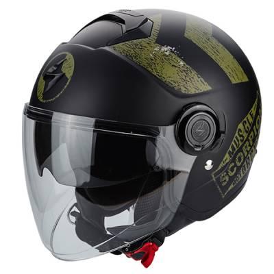 Scorpion Helm Exo-City Heritage, matt-schwarz-kaki