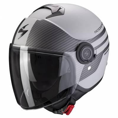 Scorpion Helm EXO-City Moda, silber-schwarz matt