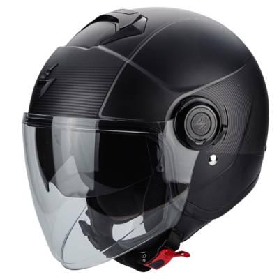 Scorpion Helm Exo-City Wind, schwarz-silber