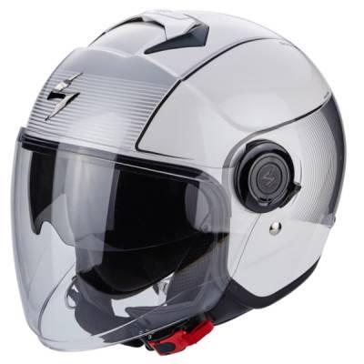 Scorpion Helm Exo-City Wind, weiß-silber