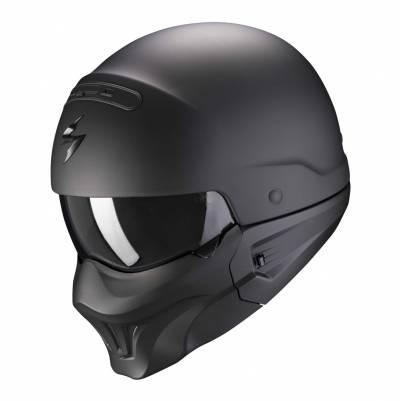 Scorpion Helm EXO-Combat Evo Solid, schwarz matt