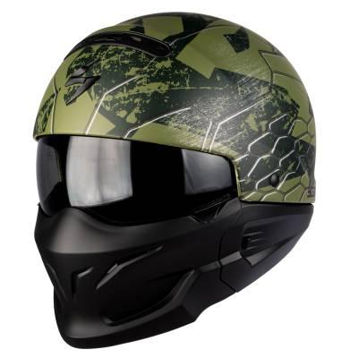 Scorpion Helm Exo-Combat Ratnik, grün-matt