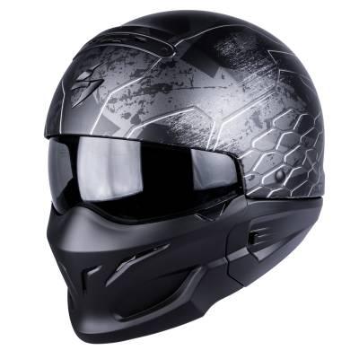 Scorpion Helm Exo-Combat Ratnik, schwarz-matt