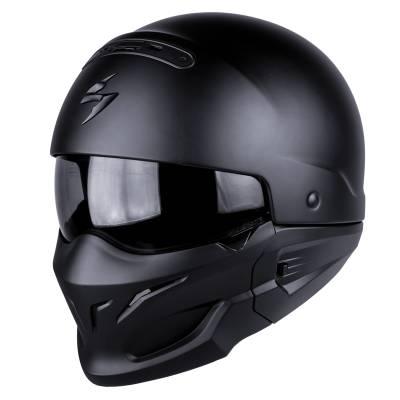 Scorpion Helm Exo-Combat, schwarz-matt