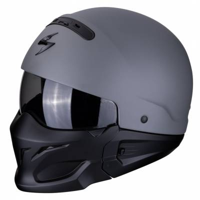 Scorpion Helm EXO-Combat Solid, grau matt