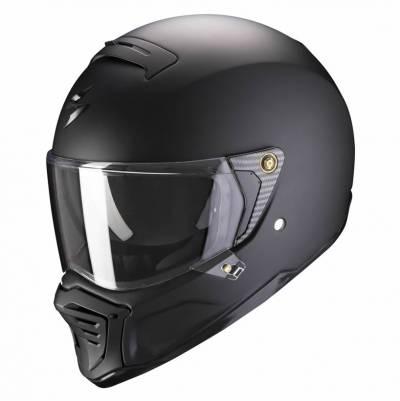 Scorpion Helm EXO-HX1 Solid, schwarz matt