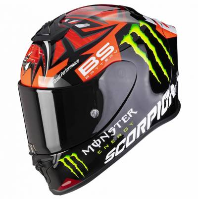 Scorpion Helm EXO-R1 Air Fabio Monster Replica rot