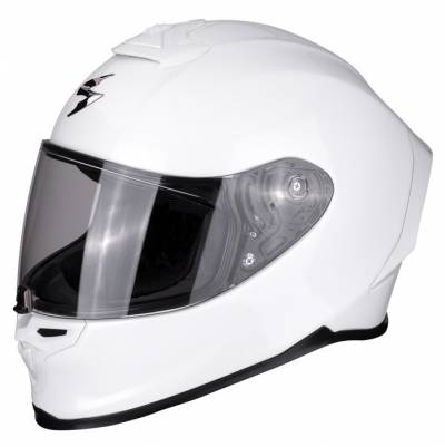 Scorpion Helm EXO-R1 Air Solid, weiß
