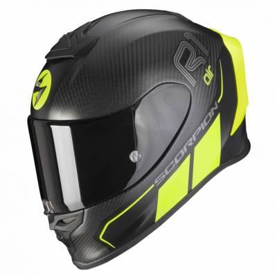 Scorpion Helm EXO-R1 Carbon Air Corpus II, schwarz-fluo gelb matt