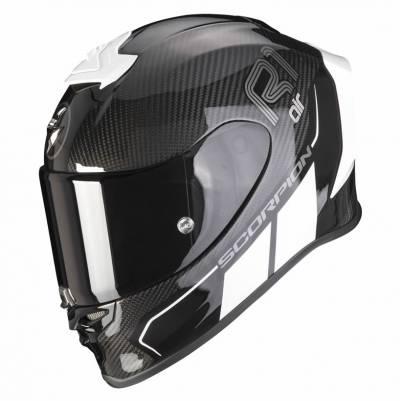 Scorpion Helm EXO-R1 Carbon Air Corpus II, schwarz-weiß