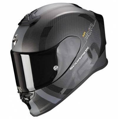 Scorpion Helm EXO-R1 Carbon Air MG, schwarz-silber matt