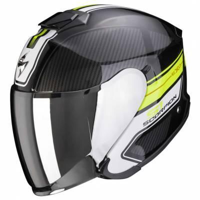 Scorpion Helm EXO-S1 Cross-Ville, schwarz-fluogelb