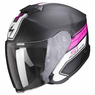 Scorpion Helm EXO-S1 Cross-Ville, schwarz-pink matt