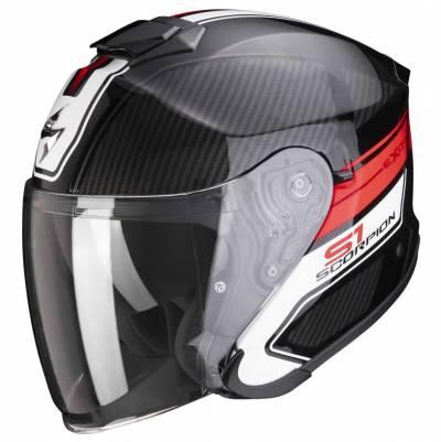 Scorpion Helm EXO-S1 Cross-Ville, schwarz-rot