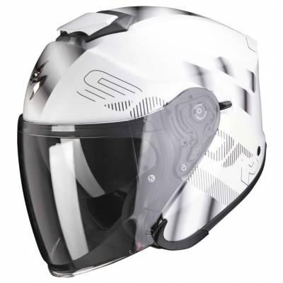 Scorpion Helm EXO-S1 Gravity, weiß-silber