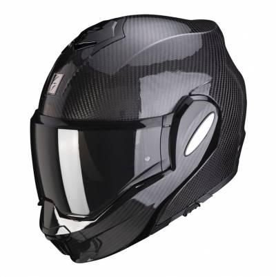 Scorpion Helm EXO-Tech Carbon Solid, schwarz
