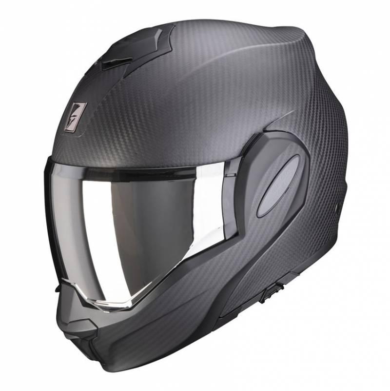 Scorpion Helm EXO-Tech Carbon Solid, schwarz matt
