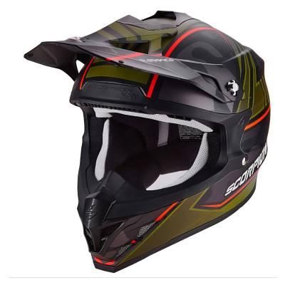 Scorpion Helm VX-15 Evo Air Miramar, matt-schwarz-grün