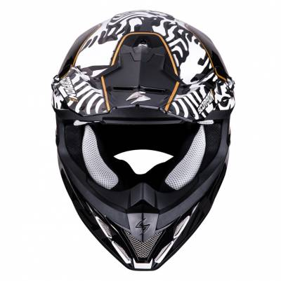 Scorpion Helm VX-21 Air Gnarly, schwarz-weiß