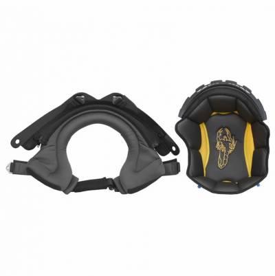 Scorpion Innenfutter EXO100 Set (Kopf + Wangenpolster) grau