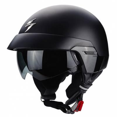 Scorpion Jethelm EXO-100 Solid, schwarz-matt
