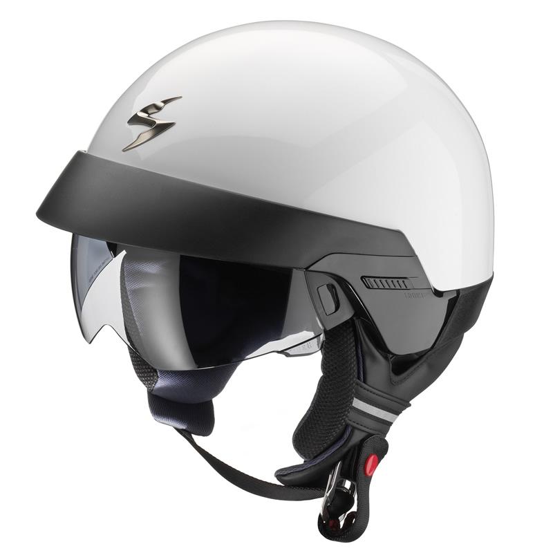 Scorpion Jethelm EXO-100 Solid, weiß